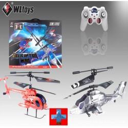 Kampf RC Hubschrauber Heli Helikopter Luftkampf Infrarot 2er-Set mit Gyro Spielzeug 2er Set