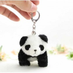 Süsses Plüschtier Panda Bär Bärchen Schlüsselanhänger Geschenk