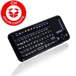 Bluetooth Mini Tastatur Keyboard QWERTZ CH Deutsch Tastatur iPhone iPad iOS Samsung Android
