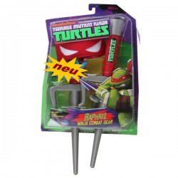 Teenage Mutant Ninja Turtles Raphael TMNT Rot Spielzeug Waffen Set Kinder