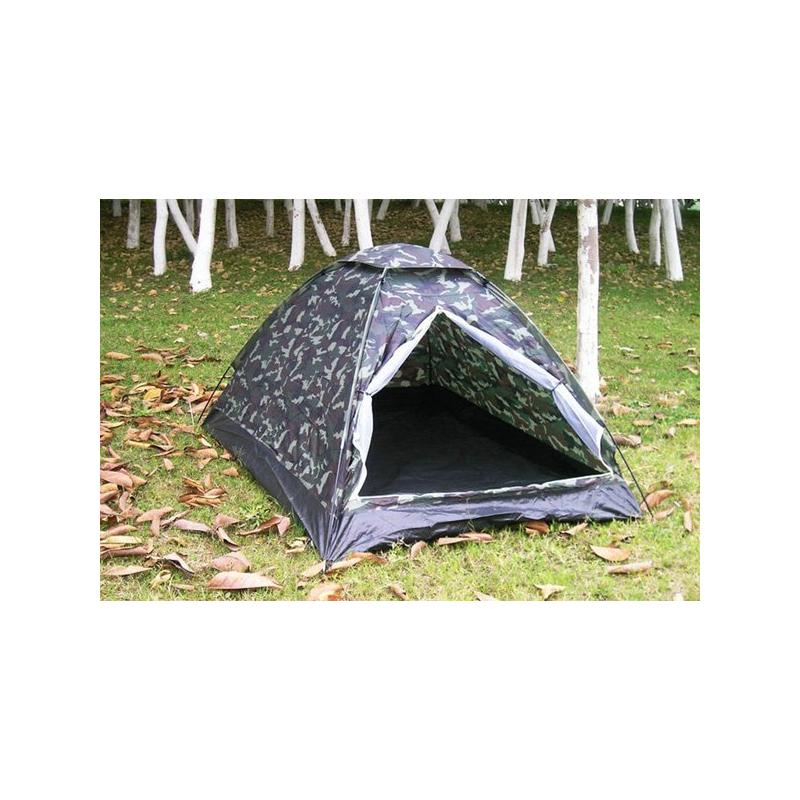 milit r camouflage camping zelt f r 2 personen outdoor. Black Bedroom Furniture Sets. Home Design Ideas