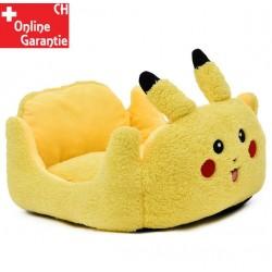 Pikachu Pokemon Katze Katzenbett Schlafplatz Hunde Hundebett Tierbett Gelb