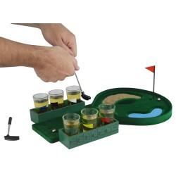 Minigolf Saufspiel Drinking Golf Partyspiel mit Trinkgläser für Erwachsene Geschenk