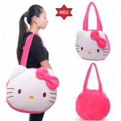 Hello Kitty Hellokitty Tasche Schulter Tasche Schultertasche Plüsch Mädchen Geschenk