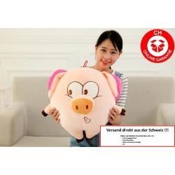 Schwein Sau rosa pink Ferkel Schweinchen Geschenk Kinder Freundin Plüschtier Plüschschwein