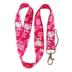 Hello Kitty Hellokitty Katze Schlüssel Anhänger Schlüsselband Mädchen Geschenk