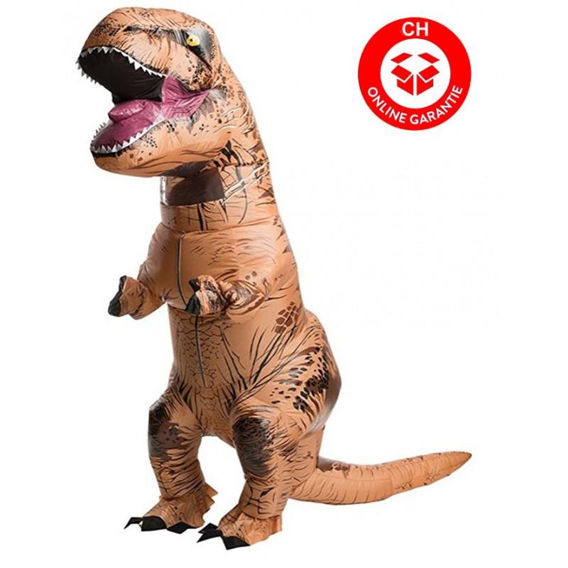 jurassic park t rex tyrannosaurus dino dinosaurier kost m aufblasbar erwachsene. Black Bedroom Furniture Sets. Home Design Ideas
