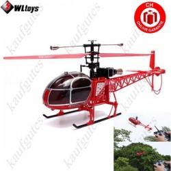 Air Lama mit LCD Fernsteuerung 4 Kanal Heli Hubschrauber Helikopter 70cm