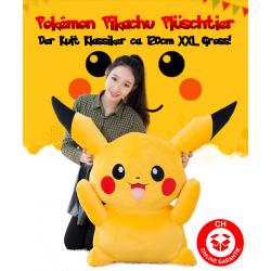 Pokémon Pikachu Plüsch Plüschtier 120cm XXL Gross Geschenk Fans Kinder