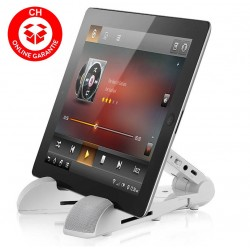 Tablet Lautsprecher Apple iPad Samsung Standhalter Mobil Klappbar Design Bluetooth 3.0
