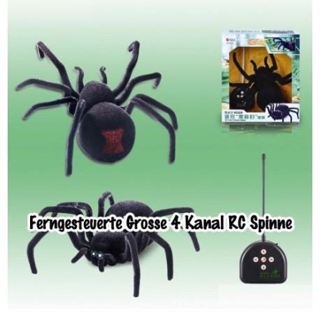 Ferngesteuerte Grosse 4 Kanal RC Spinne Vogelspinne Geschenk Kinder Kids