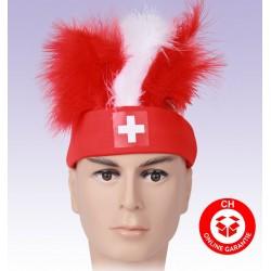 Schweiz WM EM Hut Narr Fan Mütze Stirnband Hopp Schwiiz Neu