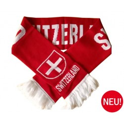 Schweizer Switzerland Suisse Fan Schal Fanschal Fussball Hockey Tennis