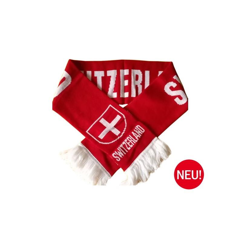 Schweiz Schal Fanschal Fussball Schal Switzerland