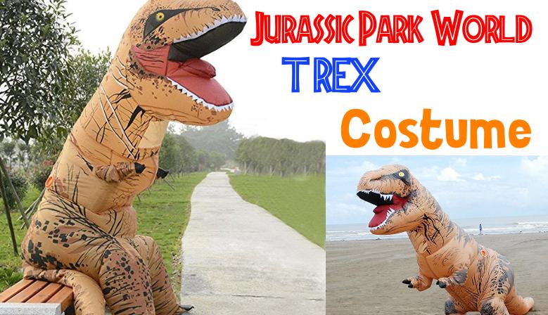 Costume de dinosaure gonflable