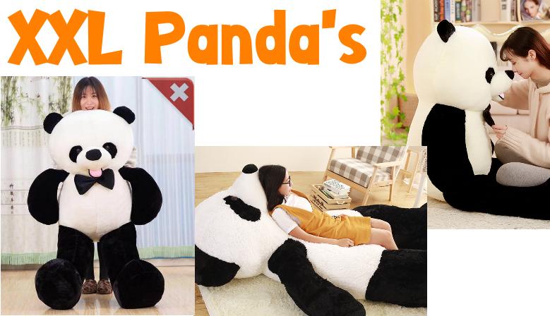 Panda Plüschbär XXL